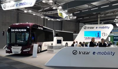 Irizar stand at UITP fair